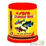 SERA Granulat menu Корм для рыб в виде 4 видов гранул 150мл