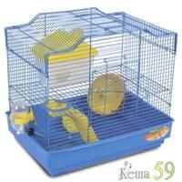 Клетка для грызунов 33x23x30 см