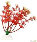 Искусственное растение Амбулия красная 10см