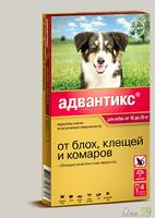 Адвантикс для собак 10-25 кг 1 пипетка