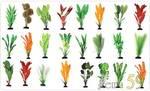 Шелковое растение в ассортименте 30см