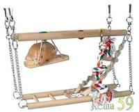 Trixie Лестница подвесная для грызунов 27.5x10.5x16см
