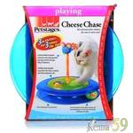 Petstages игрушка для кошек Трек с двумя мячиками диаметр основания 27см