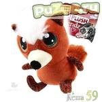 GIGwi Игрушка для собак Лиса с большими глазами 16см