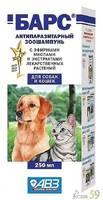 Шампунь Барс инсектицидный для собак и кошек 250 мл